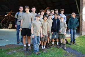 Chatham B.S. Troop 121 - Old Rhinebeck Aerodrome