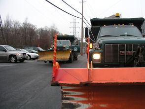 City Snow Prep Plow