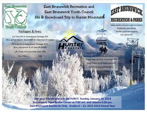 East Brunswick Recreation and Youth Council Ski/Snowboard Trip, photo 1