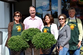 Mums Delivered to Local Merchants Through Garden Club Fundraising Efforts, photo 1
