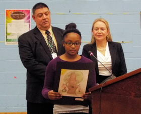 Franklin School Students' Illustrations to be Featured in Children's Book, photo 5