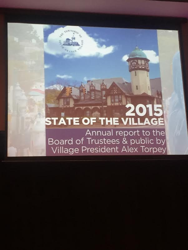 Torpey Calls for Unified Village in Annual Address