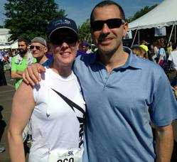 Michelle Brugger and Dr. Michael Pollack