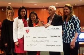 Junior Leage Pledges $12,000 towards the Big Wheel fundraising campaign