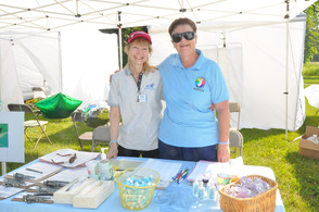 Julia Freeman and Cheryl Buxton, from Sussex County Public Health Nursing.