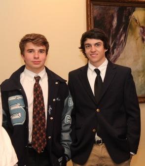 Matthew Mayer and Connor Dericks