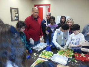 Cory Booker Visits SPF YMCA for Martin Luther King Day, photo 1