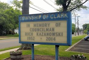 Clark Pays Tribute
