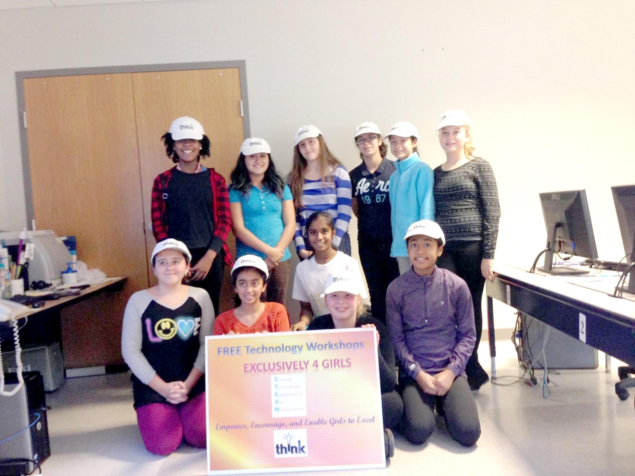 Lakeland Freshman Encourages Girls to 'ThinkSTEAM'