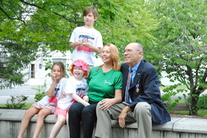 Marc DiNardo's Family and Heart Recipient