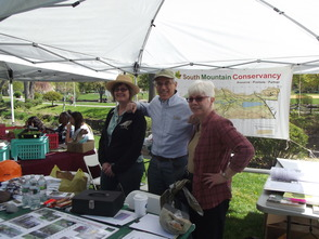 South Mountain Conservancy, Susan Brand, Dennis Percher, Jane Gaertner