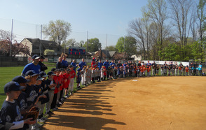 Play Ball!  It's SPFBL Opening Day at Booth Field, photo 1