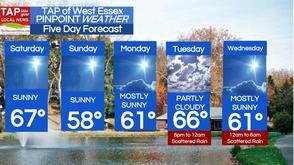 West Essex Area Weather for Saturday, April 19, photo 1