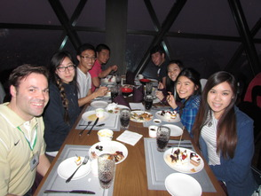Dinner at the Pearl Tower