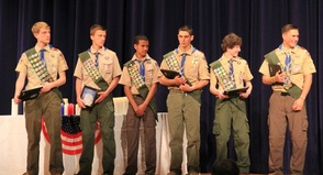 Troop 150 Eagle Scouts