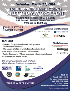 "Public Invited to ""Meet the Mayors"" Breakfast on March 22, photo 1"