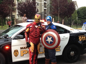 Maplewood Families Gather for National Night Out, photo 1