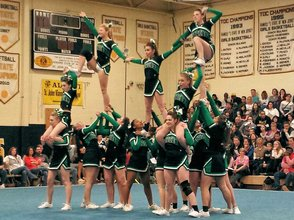 Lady Tigers Cheer Team Eying Elusive First Place at States on Sunday, photo 1