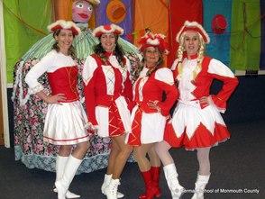 German School Celebrates Karneval with Funkenmariechen