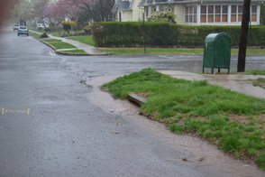 Rainwater Sewers Are Backing Up