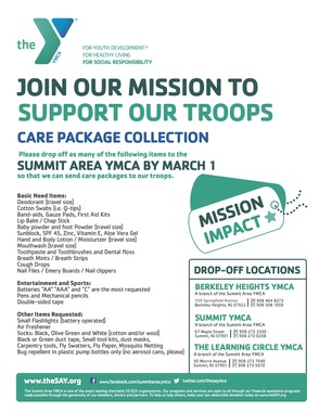 YMCA Troop Flyer