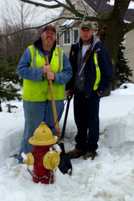 DPW Hard At Work