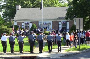 Fanwood Police salute fallen heroes
