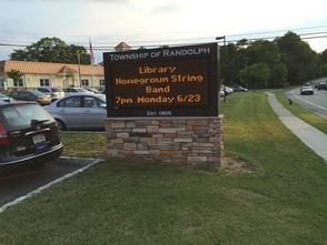 Randolph Library Presents