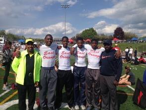 Campus High Track Team Members