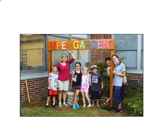 A garden grows at mount pleasant elementary news tapinto - Pleasant garden elementary school ...
