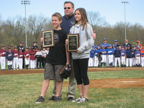 Two Annual Recreation Awards Presented to Florham Park 8th Graders