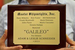 Restored Galileo Star Trek Prop