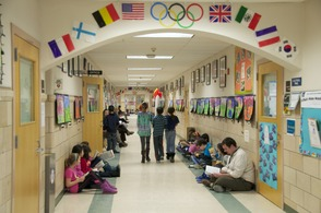 South Mountain School Holds Reading Olympics, photo 1