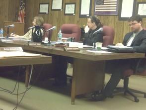 Ann Cary, Gretchan Ohlig, Brendan Galligan(left to right)