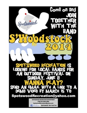 Spotswood Recreation Department Looking For Local Bands For S'Woodstock, photo 1