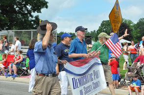 The Democratic Party of Sussex County was represented.