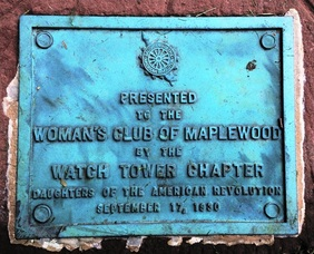 Plaque From The Daughters of the American Revolution - 1930