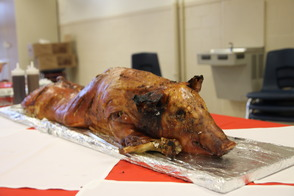 Lancer Football Kicks off Season with Pig Roast, photo 2