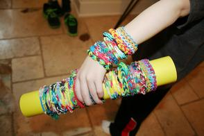 Loom Decorated Arm Carrying a Loom Boom