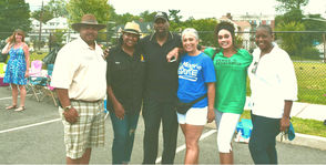 Sgt. Tyrone Williams, Det. Kim Nelson-Edwards, Al Pelham, Diane Anglin, Councilor Dr. Renee Baskerville, Gayle Shepard