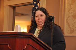 Lynn Apolinaro of the Girl Scouts of Northern New Jersey.
