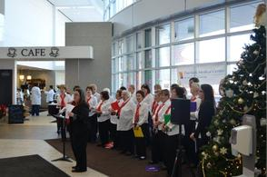 Overlook Annual Senior Sing Adds Tuneful Mirth to Hospital Lobby, photo 2