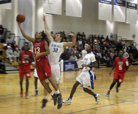 Mike Runcie layup