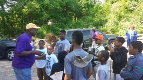 Omega Psi Phi Fraternity Host Fishing Trip for Paterson Pre-Teens , photo 2