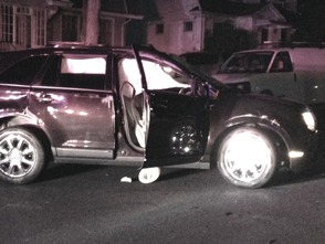 SUV Rolls Over in Roselle Sunday Night, photo 1