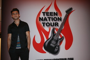Zach Matari on Teen Nation Tour