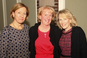 Betsy Crosby, Karen Schneider, and Linda Peck