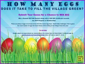 Guess How Many Eggs and Win Prior to PAL Easter Egg Hunt April 5, photo 1
