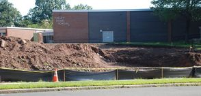 Valley Road School Driveway and Parking Area Project Progressing, photo 5
