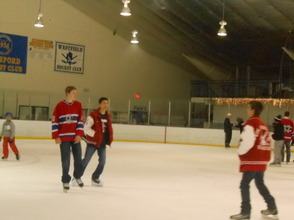 Community Enjoys Gov. Livingston Varsity Hockey Holiday Skate , photo 5